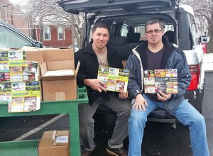 Gregg and Bruce in PA with their new 9x12 completed