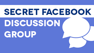 Secret Facebook Discussion Group