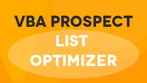 VBA Prospect List Optimizer